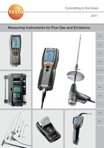 Measuring Instruments for Flue Gas and Emissions
