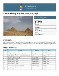 Sharm Diving & Cairo Tour Package - Memphis Tours Egypt