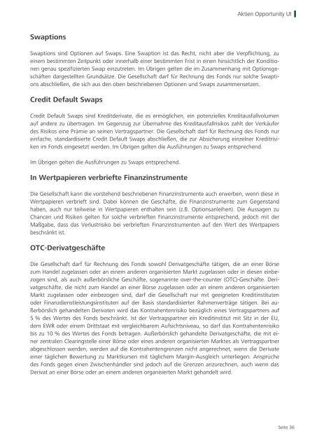 Verkaufsprospekt - Hauck & Aufhäuser Privatbankiers KGaA