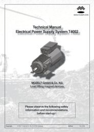 Technical Manual Electrical Power  Supply System T4002