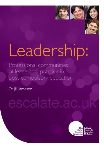 Leadership - ESCalate