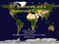 IT and the Conservation of Biodiversity - PARADISO