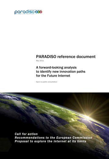 Paradiso reference document (May 2011)