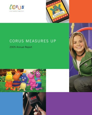 Annual Report - Corus Entertainment