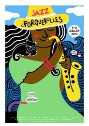 telecharger le dossier de presse 2013 - Jazz à Porquerolles