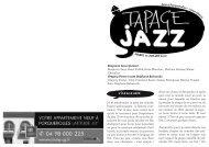 Mardi 10 juillet 2012 - Jazz à Porquerolles