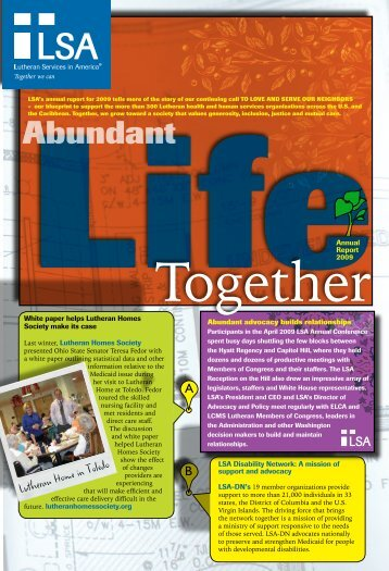 Abundant - Lutheran Services in America