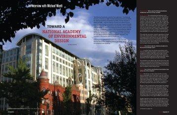 toward a - National Academy of Environmental Design