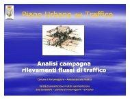Piano Urbano del Traffico - Comune di Portomaggiore