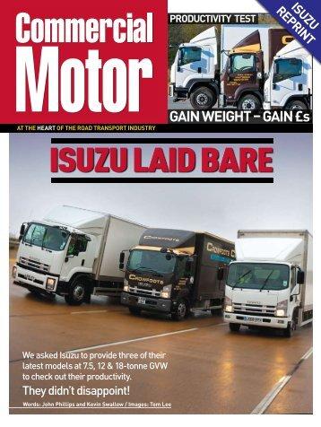 ISUZU LAID BARE - Isuzu Trucks
