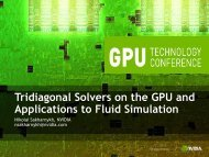 Tridiagonal Solvers on the GPU and Applications to Fluid Simulation