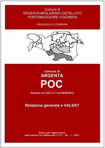 Relazione generale e VALSAT