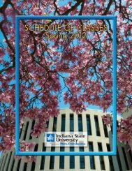 Untitled - Indiana State University: Faculty Websites
