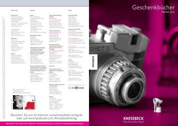 Geschenkbücher - Knesebeck Verlag