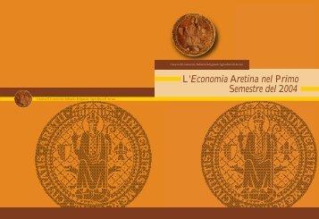L'Economia Aretina nel Primo Semestre del 2004 - Torna all'Home ...