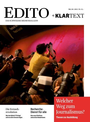 Version PDF - Edito + Klartext
