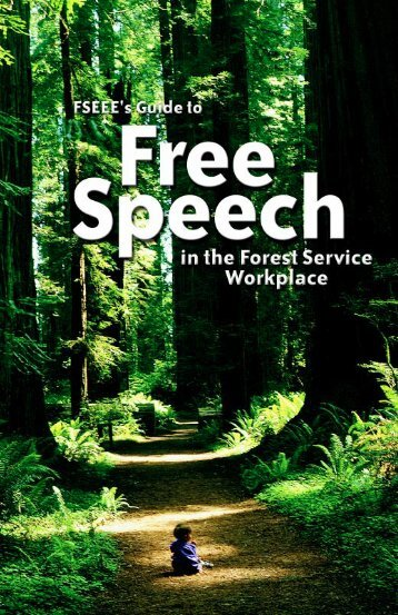 FS-cover-toc.pdf - Forest Service Employees for Environmental Ethics