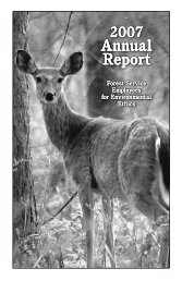 Annual Report Annual Report - Forest Service Employees for ...