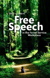 FS-All.pdf - Forest Service Employees for Environmental Ethics