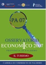 Osservatorio Economico 2007 - Turismo - Starnet.infocamere.it