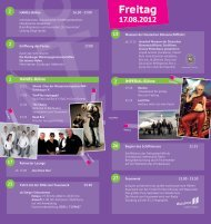 Rahmenprogramm - Ruhrorter Hafenfest