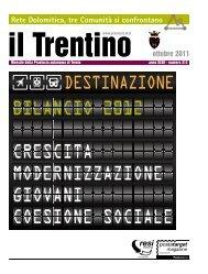 Il Trentino nr. 312 ottobre 2011 - Ufficio Stampa - Provincia ...