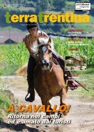 A CAVALLO! - Ufficio Stampa - Provincia autonoma di Trento