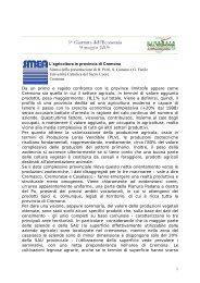 1 L'agricoltura in provincia di Cremona Sintesi della presentazione ...