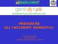Relazione Dott. Bonaldi: Prevenzione incidenti domestici - Azienda ...