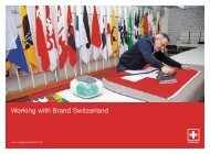 Working with Brand Switzerland