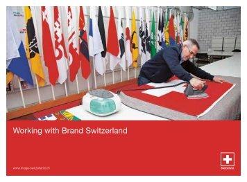Working with Brand Switzerland