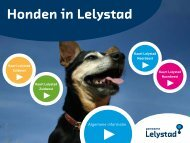 folder downloaden - Gemeente Lelystad