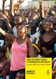 Faire des droits sexuels et reproductifs une réalité. Un cadre fondé ...