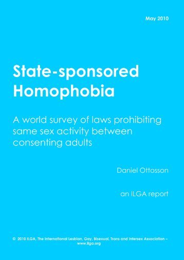 State-sponsored Homophobia - Queeramnesty.ch