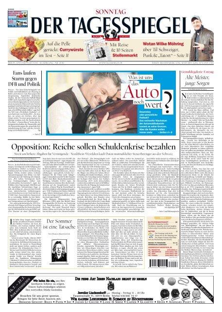 Opposition: Reiche sollen Schuldenkrise ... - E-Paper - Tagesspiegel  Yumpu