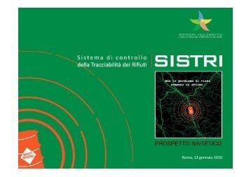 PROSPETTO SINTETICO - Sistri