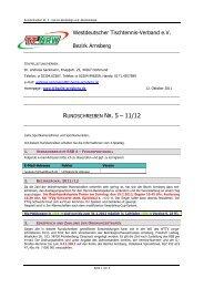 Rundschreiben Nr. 5 - WTTV Bezirk Arnsberg