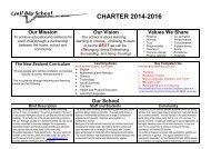 Charter - Lyall Bay School