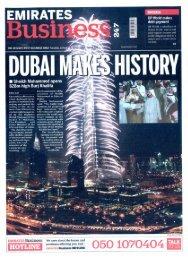 Emirates Business - prisme international