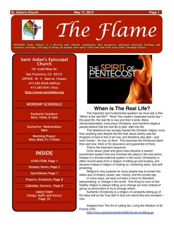 The Flame - St. Aidan's Episcopal Church