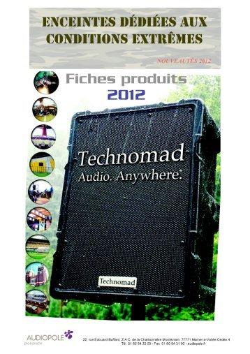 Découvrez les gammes - Audiopole
