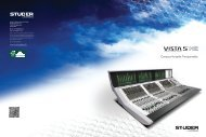 Studer Vista 5 M2 Brochure - ATT Audio Controls