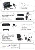 synexis – de nombreuses applications un système sans fil - Audiopole - Page 2