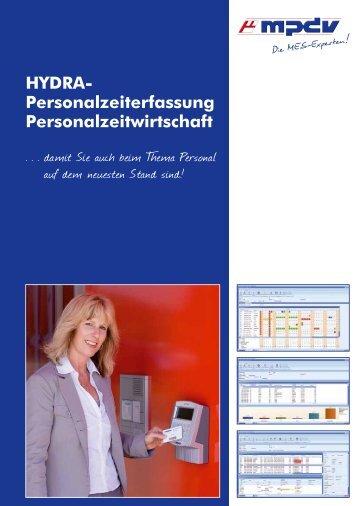 HYDRA- Personalzeiterfassung ... - MPDV Mikrolab GmbH