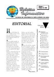 Boletim Informativo Boletim Informativo - ACRA