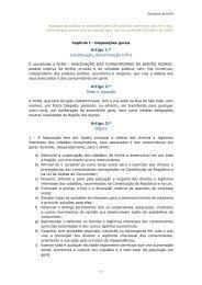 Estatutos - ACRA