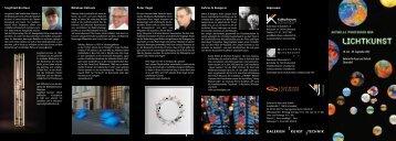 Flyer zur Ausstellung als pdf herunterladen - Kulturforum Schorndorf