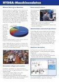HYDRA- Maschinendaten - MPDV Mikrolab GmbH - Seite 2