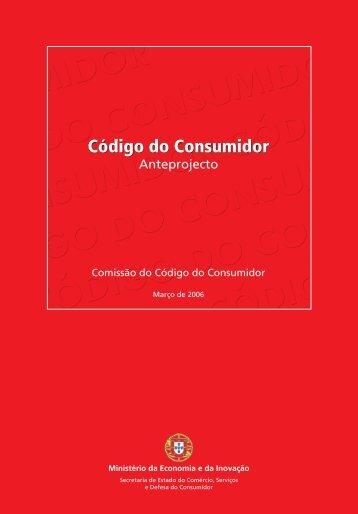 Anteprojecto do Código do Consumidor 2006 - ACRA