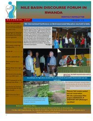 Read NBDF Newsletter Issue N. 12 - NBDF Rwanda